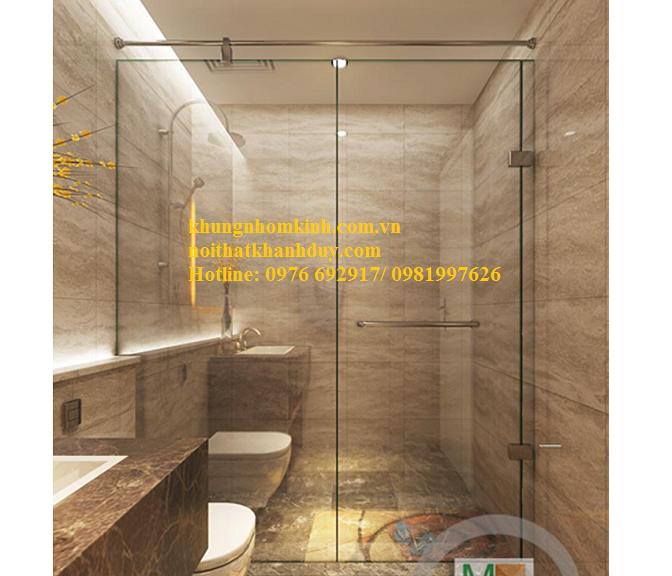 Phòng tắm vách kính GAC01