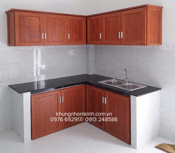Báo giá lắp đặt tủ bếp Nhôm Kính Giá Rẻ tại Hà Nội